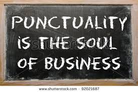 Punctuality 2